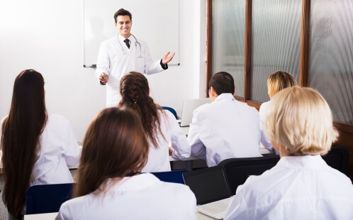 doctors learning