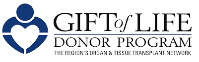gift of life donor program logo