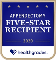 healthgrades appendectomy award 2020
